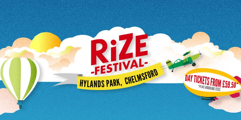 WELCOME TO RiZE - THE BRAND NEW FESTIVAL!
