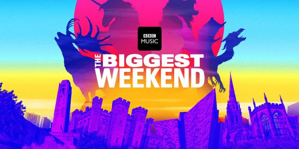 RiZE headliners performing at BBC Biggest Weekend