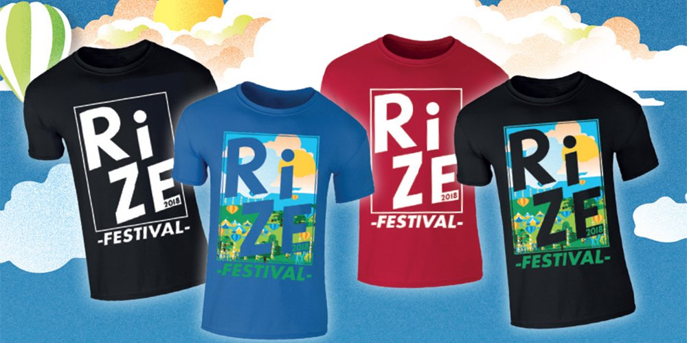 RiZE FESTIVAL OFFICIAL MERCH